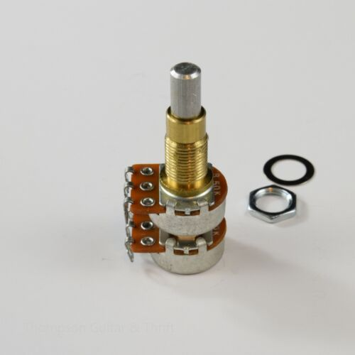 Alpha Potentiometer B50K Concentric Stacked Dime Size Pot