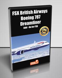 Details about FSX British Airways Boeing 787 Dreamliner for FSX - Digital  Download