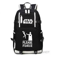 item 2 New Star Wars Backpack Darth vader Yoda School Bag Travel Shoulder  Laptop Bags -New Star Wars Backpack Darth vader Yoda School Bag Travel  Shoulder ... a0197f7232e95