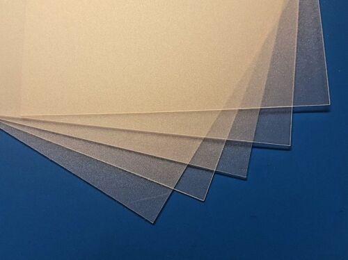 A5 A3 A4 Opaque Polypropylene Plastic Sheet Sand Finish