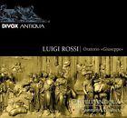 Luigi Rossi: Giuseppe (CD, Aug-2011, Divox)