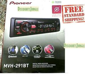pioneer bluetooth car stereo. image is loading pioneer-mvh-291bt-car-stereo-media-player-bluetooth- pioneer bluetooth car stereo o
