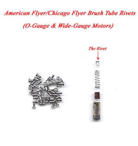 American Flyer//Chicago Flyer Brush Tube Rivets