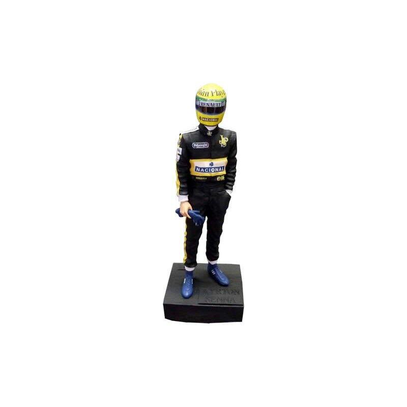 1 12 Sean´s Figure Figurine Ayrton Senna JPS JPS JPS Lotus Renault 1985-1986 RARE NEW 5d4975