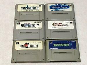 Final-Fantasy-Chrono-Trigger-Lot-6-Nintendo-SFC-Super-Famicom-Japan-SNES-NTSC-J