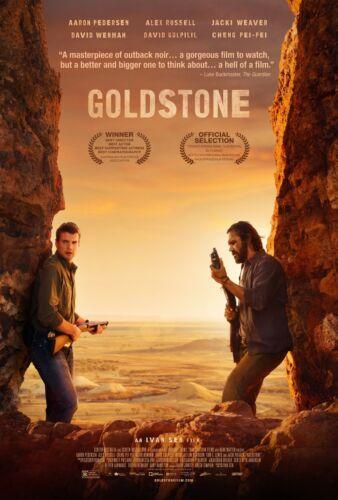 24x36 Jacki Weaver Goldstone Movie Poster - Aaron Pedersen Alex Russell