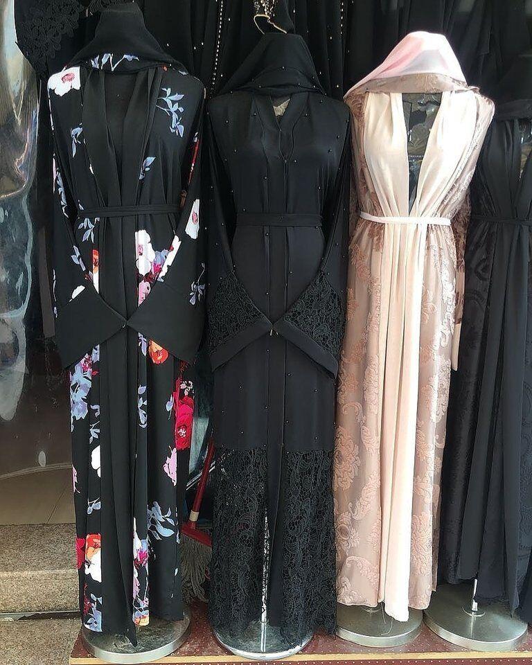 54 Eid Dubai Lace Open Abaya Kaftan Kimono Maxi Dress New With Tags schwarz