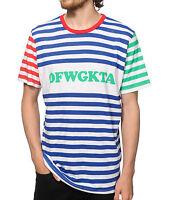 Odd Future Ofwgkta Striped T-shirt 100% Authentic