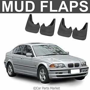 mud flaps splash guard for bmw e30 m3 e46 e36 mudguard set of 4x front and rear ebay. Black Bedroom Furniture Sets. Home Design Ideas