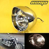 Honda Shadow 750 1100 Vlx Magna Goldwing Chrome Custom Motorcycle Headlight
