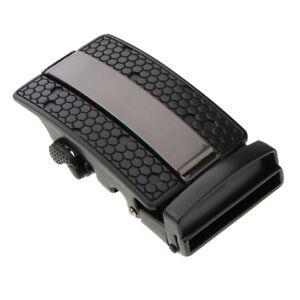 Mens Business Belt Buckle Replacement Automatic Ratchet Leather Belt Buckles