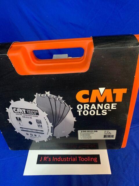 CMT 230.012.08 Dado Pro Set 8-Inch x 12 Teeth FTG+ATB Grind with 5//8-Inch Bore