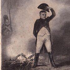 Gravure XIXe Napoléon Bonaparte à La Bataille d'Austerlitz Premier Empire