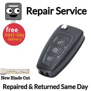 Ford-Transit-MK8-Van-Llavero-renovar-Caso-de-servicio-Nuevo-Bateria-Recargable-Fix