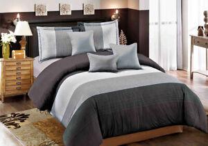 Queen//King//SuperKing Size Bed Duvet//Doona//Quilt Cover Set New Ar M318