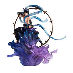 Naruto Shippuden-Sasuke Uchiha Raijin Figurine 1/8 en PVC Remix MegaHouse
