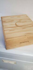 COLGIN Wooden wine crate