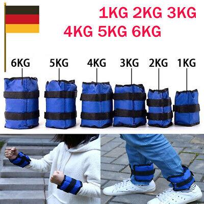 Hand Gewichte 1kg bis 6kg Gewichtsmanschetten Knöchelgewichte Laufgewichte Fuß