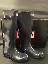 109e6b44a284 item 5 NIB Hunter Women s Original Gloss Tall Rain Boot 4M 5F Navy W23616  -NIB Hunter Women s Original Gloss Tall Rain Boot 4M 5F Navy W23616