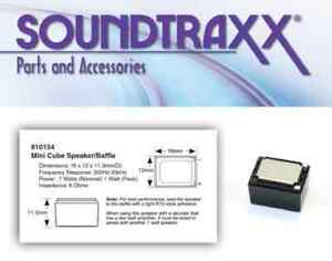 SoundTraxx-Mini-Cube-Oval-Speaker-Baffle-810154-NEW-Squeaky-039-s-Trains