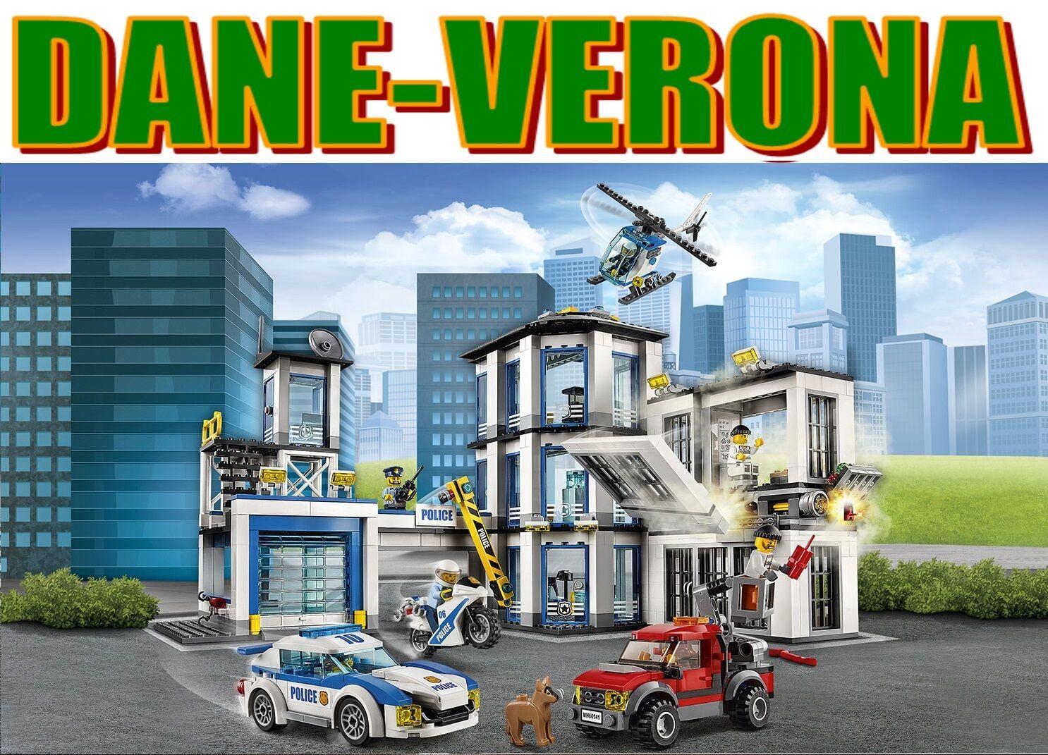 Lego -  STAZIONE DI POLIZIA (60141) città polizia  comprare a buon mercato
