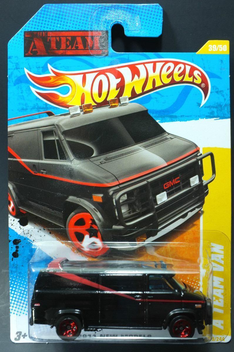 Hot Wheels A TEAM VAN FURGONETA EL EL EL EQUIPO A Movie TV Series  BLISTER USA 6e78ce