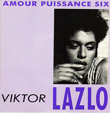 VIKTOR LAZLO AMOUR PUISSANCE SIX (GAINSBOURG) / LA CITE FRENCH 45 SINGLE