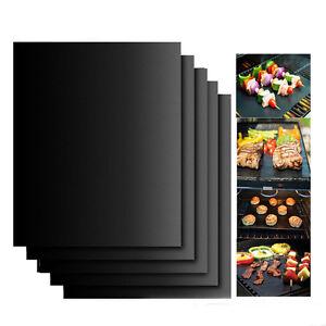Reutilisable-Antiadhesive-Noir-BBQ-Grill-Mat-Pad-Barbecue-Feuille-de-Cuisson