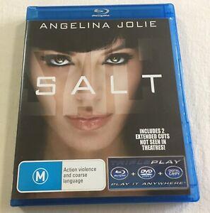 Salt-2010-Blu-Ray-DVD-Region-Free-4-VGC-Angelina-Jolie-Phillip-Noyce