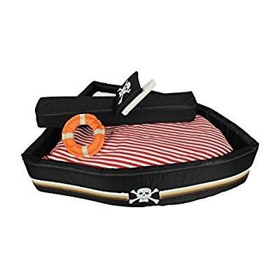 Pirate Ship Cat Dog Pet Animal Bed Sleep Nautical Sailing Boat Beach Cute Fun