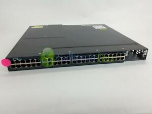 Cisco-WS-C3560X-48PF-L-48-Port-10-100-1000-Ethernet-PoE-Damage-Face