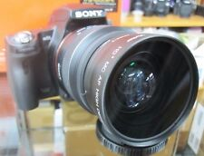 Wide Angle Lens for Sony Alpha A55 A37 A57 A58 A100 A33 A35 A65 T