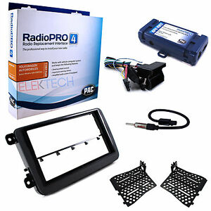 Radio-Replacement-Interface-amp-Dash-Mount-Kit-w-Antenna-Adapter-for-Volkswagen