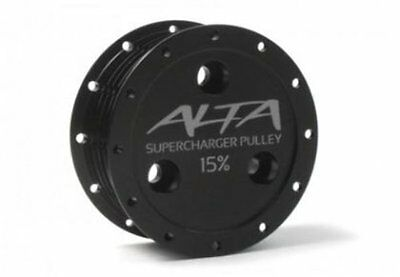 Alta 02-08 Mini Cooper S R52 /& R53 Supercharger Pulley Belt For 15/% and 17/%