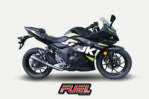 Suzuki-GSX250R-F1R-Race-Carbon-GP-Fuel-Exhaust-Black-Bracket-DB-Killer