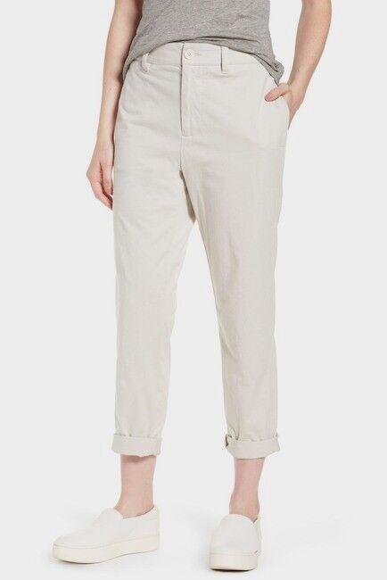 295 James Perse Full Surplus Jersey Pants Talc WDCJ1692 Size 28