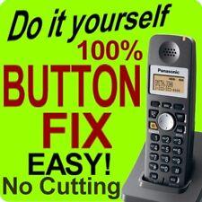 Panasonic Cordless Phone Keypad Button Fix KX-TGA300B KX-TGA300S KX-TGA600B