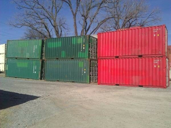 * * * * Two 20' Cargo Containers /  Storage Containers in Long Beach, CA * * * *