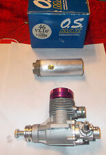 OS VX .46 high speed R/C, control line free flight  model airplane engine