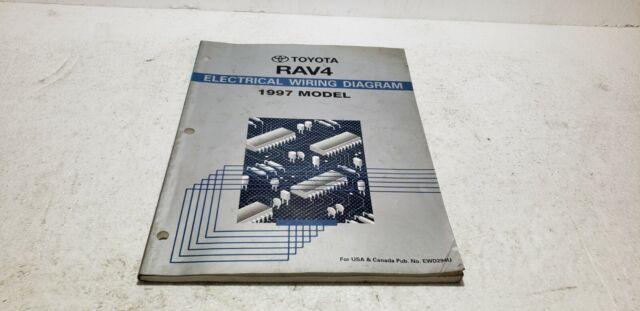 1997 Toyota Rav4 Dealer Service Electronic Wiring Diagram