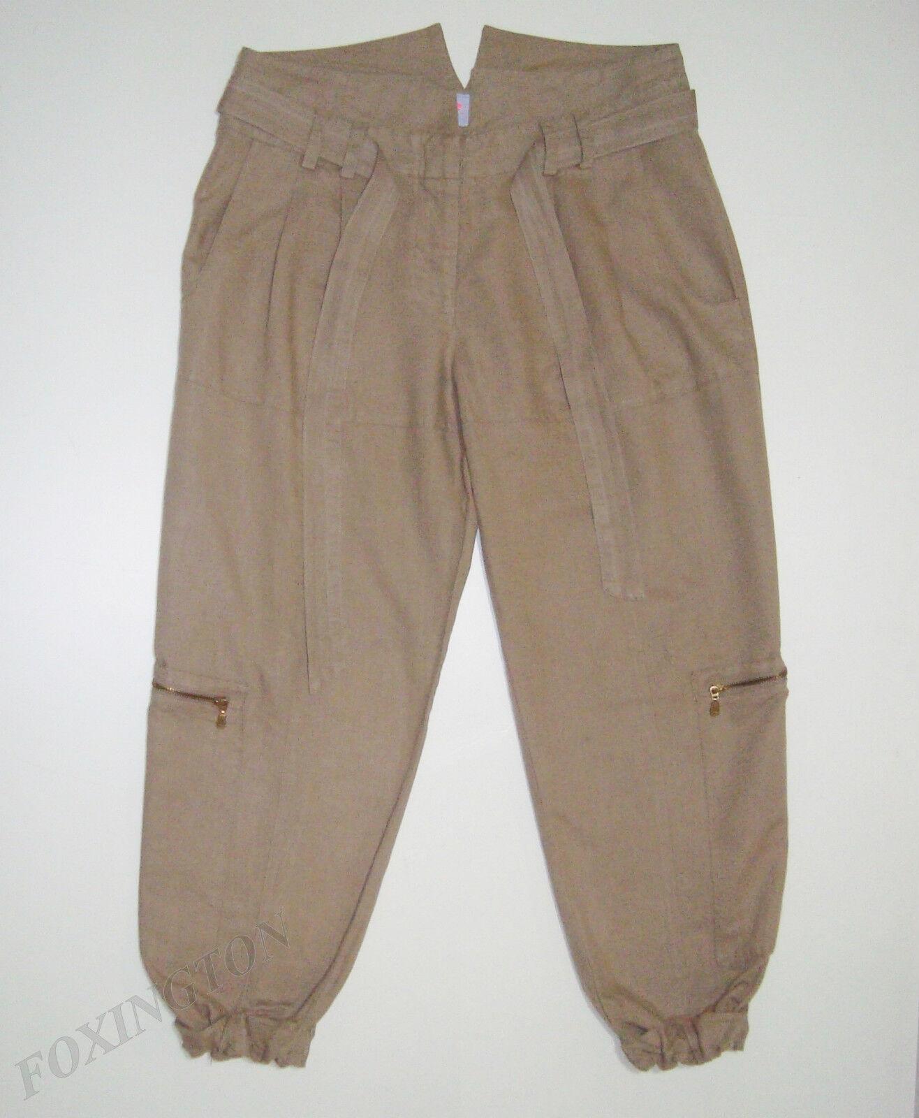 SASS&BIDE LOOSE FITTING CROPPED PANTS 38 2 AUS 10  WIND RUNNER PAPER BAG PANT