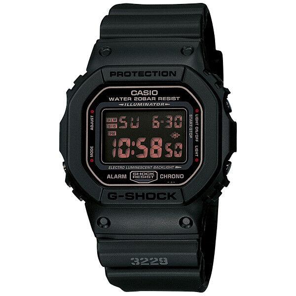CASIO G-SHOCK Military Matt Black Series Watch GShock DW-5600MS-1