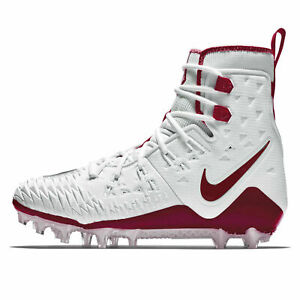 Details about $140 Mens NIKE FORCE SAVAGE ELITE TD Football Cleat CRIMSON MAROON WHITE sz 8.5