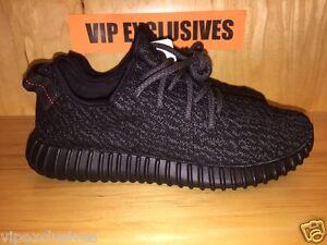 Adidas Yeezy Boost Black Low