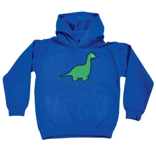 Am Dinosaur Brachiosaurus Funny Kids Childrens Hoodie Hoody