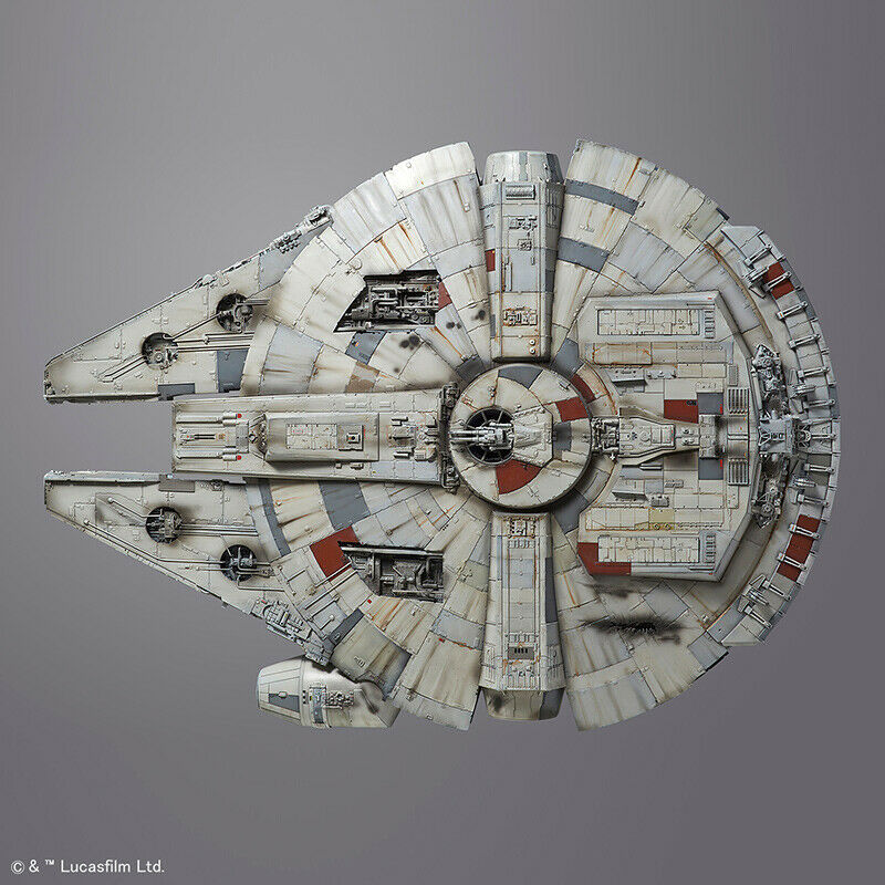 Star Wars Millennium Falcon Plastic Model Kit 1 72 (No (No (No Gunpla) BANDAI 6be5cd