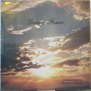 JEANNE GEIDEL & THE NEW HORIZON Living Force LP Top Xian Folk/Soft Rock Gem MP3