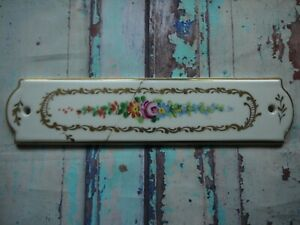 FP117-Reclaimed-Salvaged-Old-Original-Ceramic-Door-Finger-Plate-60-x-252mm