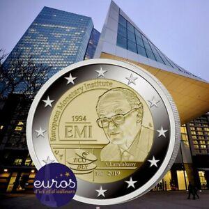 Coincard-2-euros-BELGIQUE-2019-Institut-Monetaire-Europeen-Version-FLAMANDE
