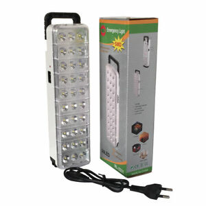 Details About Led Torch Portable 38 Rechargeable Emergency Light Home Outdoor Camping